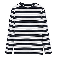 Buy Mango Kids Boys' Striped Long Sleeve T-Shirt Online at johnlewis.com