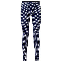Buy Gant Stars Long Johns, Navy Online at johnlewis.com