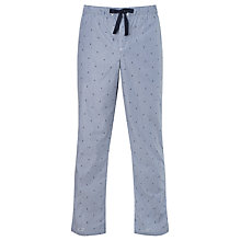 Buy John Lewis Anchor Stripe Pyjama Bottoms, Blue Online at johnlewis.com
