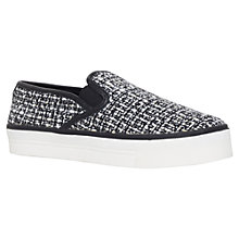 Buy Carvela Limpid Flat Slip On Low Top Trainers Online at johnlewis.com