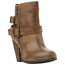 Buy Steve Madden Nother Western Style Buckled Ankle Boot Online at johnlewis.com