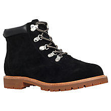 Buy Miss KG Soda Lace Up Suedette Ankle Boots, Black Online at johnlewis.com