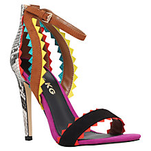 Buy Miss KG Fanfare High Heeled Stiletto Sandals, Multi/Other Online at johnlewis.com