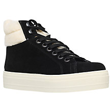 Buy Miss KG Lilian Flatform High Top Trainers, Black Online at johnlewis.com