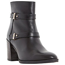Buy Dune Black Oren Double Strap Ankle Boots Online at johnlewis.com