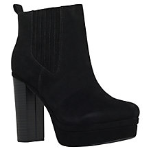 Buy Miss KG Saffron Block Heeled Ankle Boots, Black Online at johnlewis.com