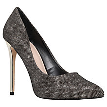 Buy Carvela Goal High Heeled Stiletto Court Shoes, Black Online at johnlewis.com