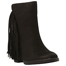 Buy Steve Madden Woodstck Tassel Detail Ankle Boot Online at johnlewis.com
