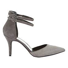 Buy Mint Velvet Dakota Double Strap Stiletto Court Shoes Online at johnlewis.com
