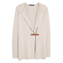 Buy Violeta by Mango Buckle Front Jacket, Brown Online at johnlewis.com