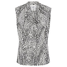 Buy Windsmoor Cowl Neck Print Top, Neutral/Black Online at johnlewis.com