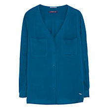 Buy Violeta by Mango Patch Pocket V-Neck Blouse Online at johnlewis.com
