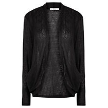 Buy Oasis Lace Drape Cardigan Online at johnlewis.com