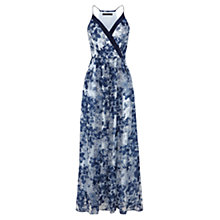 Buy Karen Millen Dramatic Silhouette Maxi Dress, Blue Online at johnlewis.com