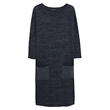 Buy Violeta by Mango Flecked Shift Dress, Dark Grey Online at johnlewis.com