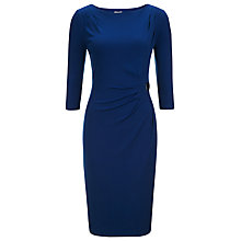 Buy Planet Buckle Jersey Dress, Mid Blue Online at johnlewis.com