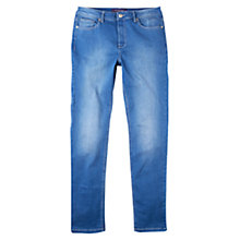 Buy Violeta by Mango Slim Fit Ainhoa Jeans, Open Blue Online at johnlewis.com