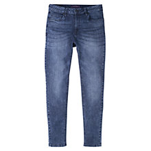 Buy Violeta by Mango Super Slim Fit Vladi Jeans, Open Blue Online at johnlewis.com