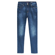 Buy Violeta by Mango Claudia Boyfriend Jeans, Open Blue Online at johnlewis.com
