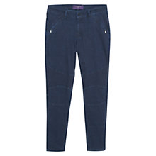 Buy Violeta by Mango Super Slim Fit Jeans, Open Blue Online at johnlewis.com