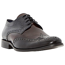 Buy Dune Rio High Shine Leather Brogue Shoes, Multi Hi-Shine Online at johnlewis.com