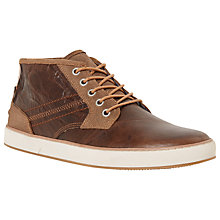 Buy Dune Scholesy Cupsole Leather Hi-Top Trainers Online at johnlewis.com