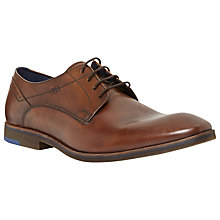 Buy Dune Rink Plain Almond Toe Derby Shoes Online at johnlewis.com