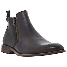 Buy Dune Maccabee Double Side Zip Boots, Brown Online at johnlewis.com