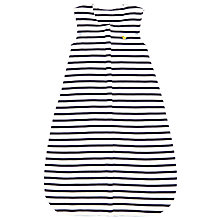 Buy John Lewis Baby Stripe Travel Sleep Bag, Blue/White Online at johnlewis.com