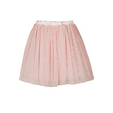 Buy John Lewis Girls' Ballet Mesh Skirt, Pink Online at johnlewis.com