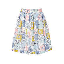 Buy John Lewis Girls' Patchwork Flippy Skirt, Multi Online at johnlewis.com