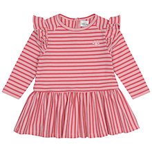 Buy No Added Sugar Baby's Striped Dress, Pink Online at johnlewis.com