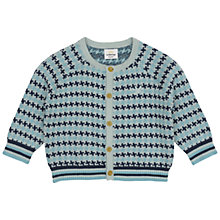 Buy No Added Sugar Baby's Criss Cross Cardigan, Blue Online at johnlewis.com