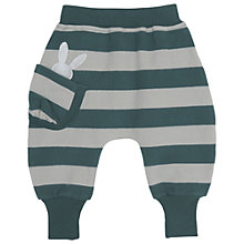 Buy No Added Sugar Baby's Stripe Joggers, Green Online at johnlewis.com