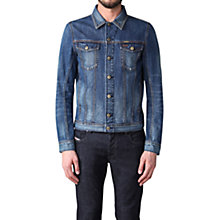 Buy Diesel Elshar Denim Jacket, Mid Wash Denim Blue Online at johnlewis.com