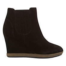 Buy Mint Velvet Tash Leather Wedge Ankle Boots Online at johnlewis.com