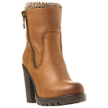 Buy Steve Madden Sweater Knitted Cuff Detail Ankle Boots Online at johnlewis.com