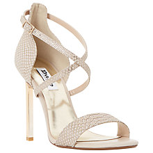 Buy Dune Mojito Metal Heel Strappy Sandal Online at johnlewis.com