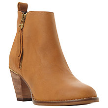 Buy Steve Madden Wantagh Mid Heeled Ankle Boots Online at johnlewis.com