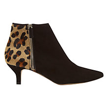 Buy Mint Velvet Sami Kitten Heel Ankle Boots Online at johnlewis.com