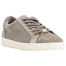 Buy Dune Edgeware Mixed Material Round Toe Trainer Online at johnlewis.com