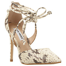 Buy Steve Madden Raela Tie Front Cut Away Court Shoes Online at johnlewis.com