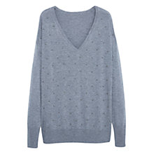 Buy Violeta by Mango Bead Detail Jumper Online at johnlewis.com