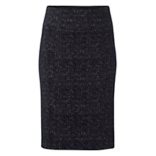 Buy White Stuff Edgewood Jersey Skirt, Black Online at johnlewis.com