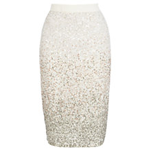 Buy Coast Anderson Sequin Pencil Skirt, Multi Online at johnlewis.com