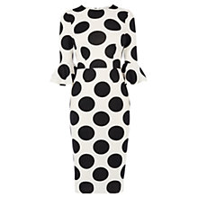 Buy Coast Maralynn Spot Print Dress, Mono Online at johnlewis.com