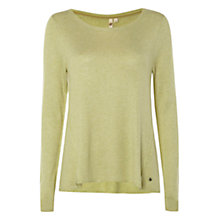 Buy White Stuff Paradise Tree Jumper, Nature Green Online at johnlewis.com