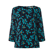 Buy White Stuff Apostrophe Top, Brooklyn Blue Online at johnlewis.com