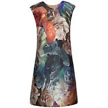Buy Ted Baker Helaina Technicolour Bloom Shift Dress, Black Online at johnlewis.com