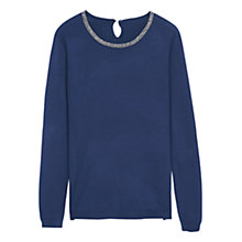 Buy Violeta by Mango Bead Neck Jumper Online at johnlewis.com